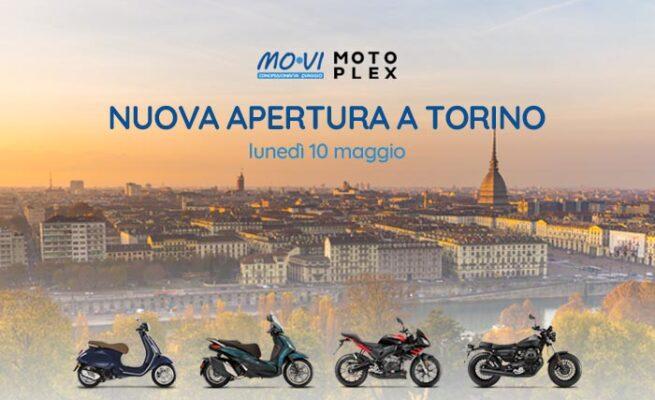 Nuovo Piaggio Motoplex a Torino