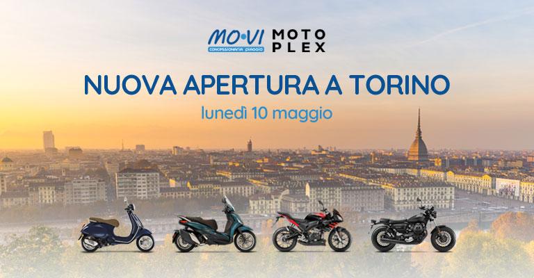 Mo.Vi Piaggio un nuovo Motoplex a Torino